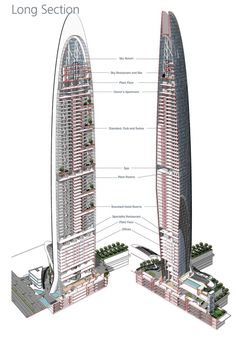 Namaste Tower in Mumbai is a Contemporary Interpretation of Indian Architecture