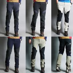 ebay Korea_top functional Mens  Cycling   Hiking Trecking Pants climbing Mountaineering trousers with belt