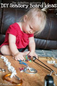 Whether you need to get dinner done, are sick, or any situation where you need to promote independent toddler play, here are 10 awesome ideas & activities!