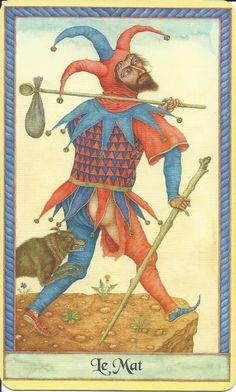 le mat: The Fool Tarot Card