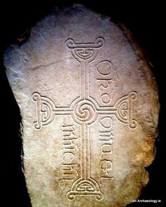 "An Early Christian cross from Ireland. In early Irish culture, there were no cruxifications on the early crosses as they symbolized where to find spirit. The four arms are gateways leading to the center ""triscele"". In the older Irish traditions, Uisineach is center where the great Bile Sacred tree grew. It connected 3 worlds, roots set in the Earth connected to past and ancestors, it grew in present and branches reach out to future. It was where the no. 7 is sacred and where the Spirit…"