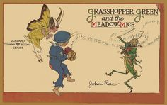 Grasshopper Green covers stitched by katinthecupboard, via Flickr