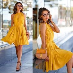 Online Fashion Shopping Store for Sleeveless Chiffon Short Mini Dress, Western Wear, Dresses. Sleeveless Chiffon Short Mini Dress Buy Online with secure payment gateway from India. Beach Dresses, Casual Dresses, Short Dresses, Dress Beach, Bow Dresses, Fashion Dresses, Fashion 2018, Casual Wear, Girls Dresses