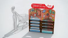 Conical Retail Displays : Elege