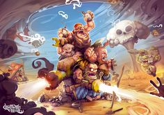 Dwarves last bastion on Behance