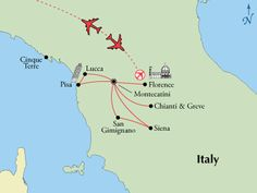 Independent Tuscany Vacation Package All Inclusive Air Car Hotel