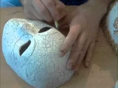 venice mask making Part II - YouTube