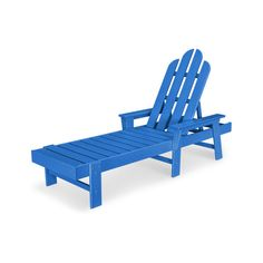 POLYWOOD® Long Island Chaise - ECC76 | POLYWOOD® Official Store Outdoor Chairs, Outdoor Furniture, Outdoor Decor, Outdoor Living, Pacific Blue, Island Pacific, Long Island, Recliner, Sun Lounger