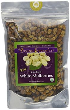Divine Organics 14oz Raw White Mulberries >>> Be sure to check out this awesome product.Note:It is affiliate link to Amazon.