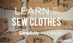 We're super-excited! We just launched two online sewing classes on @creativebuginc!  Learn how to sew a gathered skirt, and a dress and top with Simplicity patterns. Simplicity's Deborah Kreiling will show you how!