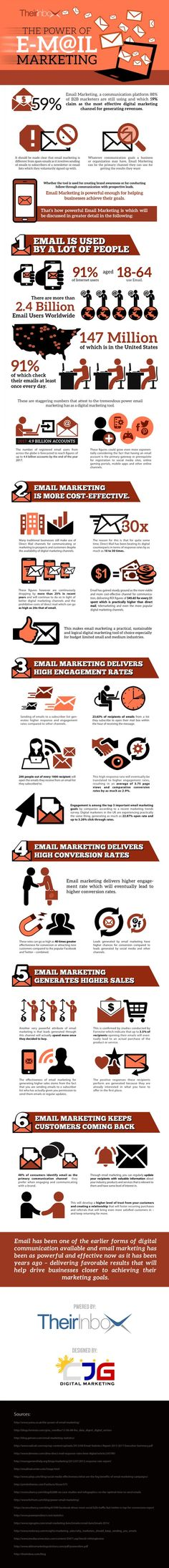 The Power of Email Marketing (scheduled via http://www.tailwindapp.com?utm_source=pinterest&utm_medium=twpin&utm_content=post569947&utm_campaign=scheduler_attribution)