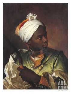 Young Negro with a Bow, c.1697