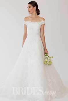 The New Classic: 45 Off-the-Shoulder Wedding Dresses