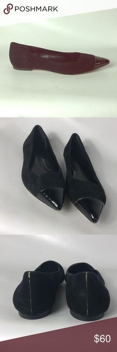 Truth or dare by Madonna suede flats size 6.5 Condition 8/10, normal amount of scuffs around both shoes from normal wear. Black suede and patent leather, size 6.5 , great shoes, if you have any questions or you want to request more pictures, don't hesitate to ask me. Thank you 🙏🏼 truth or dare by Madonna Shoes Flats & Loafers