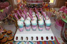 Cotton Candy Dessert cups!!