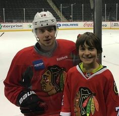 Panarin with a fan