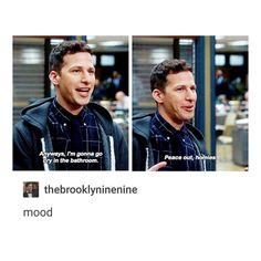 15 Jake Peralta Brooklyn 99 Moments That Are Toit Title of your sex tape. Brooklyn Nine Nine Funny, Brooklyn 9 9, Brooklyn 99 Season 1, Detective, Jake Peralta, Andy Samberg, Thing 1, Series Movies, My Guy