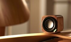 discreet tiny and mega classy bluetooth speaker for my kitchen