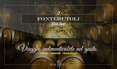 An unforgettable journey into taste. For reservations for large groups contact our Enoteca at enoteca@fonterutoli.it @marchesimazzei #winetour #MarchesiMazzei #Fonteurutoli
