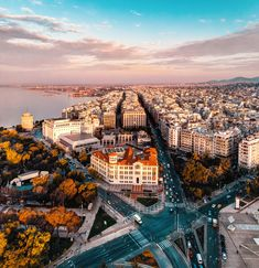 Thessaloniki, Greece by John Triantafillopoulos Places Around The World, Travel Around The World, Around The Worlds, Ancient Ruins, In Ancient Times, Great Places, Places To See, Parthenon, Travel Aesthetic