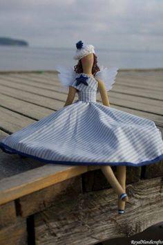 Tilda Angel Doll Princess Vintage Handicrafts by RoyalHandicrafts Fabric Dolls, Paper Dolls, Rag Dolls, Angel Crafts, Bear Doll, Doll Maker, Sewing Toys, Soft Dolls, Diy Doll