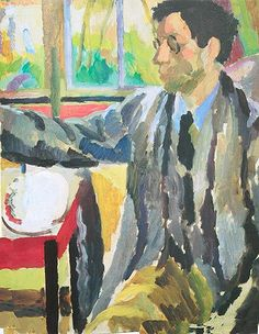Duncan Grant painting c.1920 by Vanessa Bell