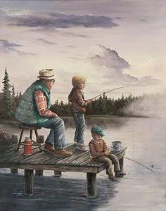 Spend time with those most important in your life this weekend. Take advantage of the time you have today! Trout Fishing Tips, Fishing Guide, Fishing Lures, Cartoon Fish, Fish Wallpaper, Gone Fishing, Vintage Fishing, Fantasy Landscape, Vintage Posters
