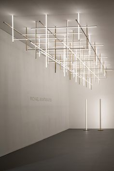 Michael Anastassiades calls for timeless design for Maison&Objet 2020 l The most recent collaboration with Flos, showcased in Milan last year, resulted in the Coordinates system Mobile Chandelier, Chandeliers, Ceiling Lamp, Ceiling Lights, Top Interior Designers, Luz Led, Interior Lighting, Modern Lighting Design, Ceiling Design