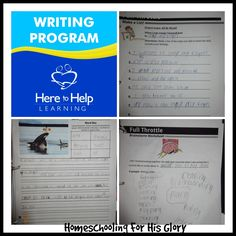 Homeschooling for His Glory: Here to Help Learning - TOS Review