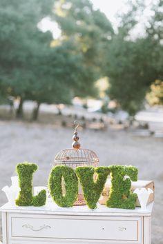 Moss love sign, cute!