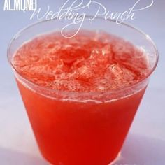 Whether you know it as Wedding punch, Almond punch, or something else, this is the BEST party punch! Wedding Punch Recipes, Pink Punch Recipes, Party Punch Recipes, Orange Recipes, Drink Recipes, Yummy Recipes, Yummy Food, Alcohol Recipes, Dessert Recipes