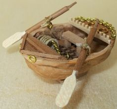 walnut shell-little ship