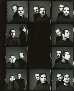 Unsigned contact prints of Simon & Garfunkel Richard Avedon, 1967