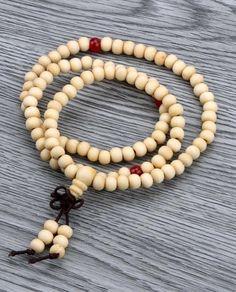 Sandalwood Tibetan Buddhism Mala Prayer Beads 108 Beads Bracelet Necklace PDH