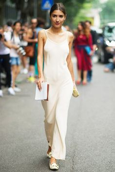 Parisienne: THE SLIP DRESS waysify