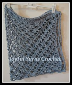 Sanibel Sarong - pattern by Joyful Yarns Crochet