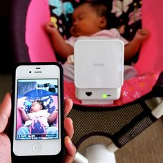 Oh my goodness, the world is so smart now. Smart Baby Monitor. Absolutely Genius!