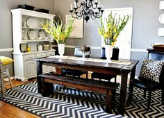 A Mini-Dining Room Make-over