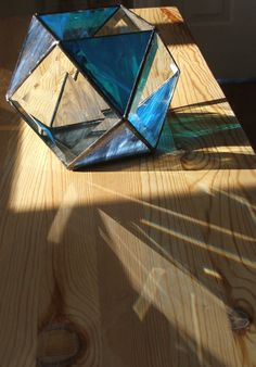 Ornamental 3D Stained Glass Sculpture by HAMNAVOE on Etsy, $95.00