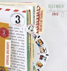 Finally started working on this year's December Daily. Lots going on. I hope to post the cover tomorrow.