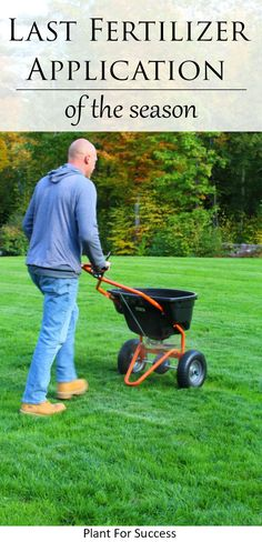 The last Lawn Fertilizer Application of the season is the most important one! If done correctly, fertilizing in the fall will give you beautiful green grass in the spring. Learn how and when to apply Winterizer Fertilizer, and what products are best. #lawnfertilizerschedule #lawnfertilizerdiy #lawnfertilizertips #lawncare