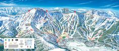 The Kirkwood Mountain Resort trail map shows all the great runs on the ski slopes. Located in Kirkwood California. Lake Tahoe Map, Tahoe City, South Lake Tahoe, Snow Resorts, Vail Resorts, Kirkwood Ski, Nevada, Trail Maps