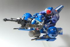 HG 1/144 MS-21C Dra-C Hover Bike - Custom Build  Modeled by Sary