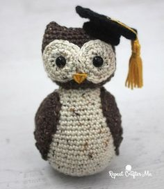 A little wise owl for a graduate to be!