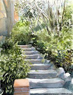 FRANCESC BUENO @@@@......http://www.pinterest.com/venussanat/watercolor-painting/