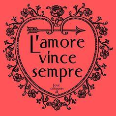 tattoos italian on pinterest italian love conquers all