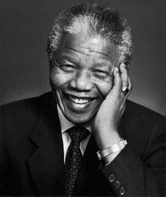 Nelson Mandela (d 2013) I honor and thank you, Madiba, for having the moral courage to always take the high road.