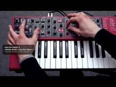 Nord Lead A1 Creative Sound Design: Creating a dynamic patch