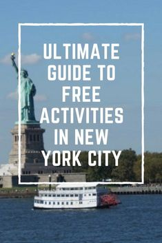 Ultimate Guide To Free Activities In New York City | www.andreapeacock.com #travel #nyc #newyorkcity #travelguide