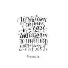 "Philippians 1:6 - ""b"
